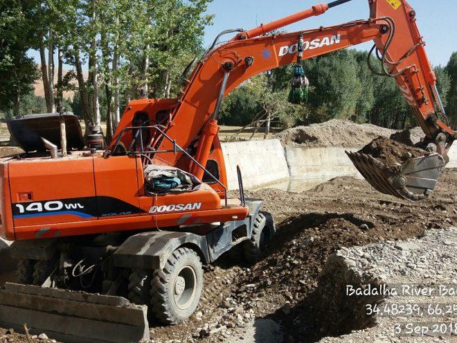 Rehaibilation/Badlha Village River Bank Protection Works (Lal & Sar Jangal Disrict Ghor Province)